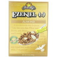Food For Life Cereal Ezkl Almond Org, 16 Oz, Pk- 6