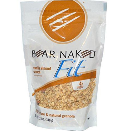 Bear Naked Fit Vanilla Almond Crunch Granola 12-Ounce Pouches (Pack Of 72)