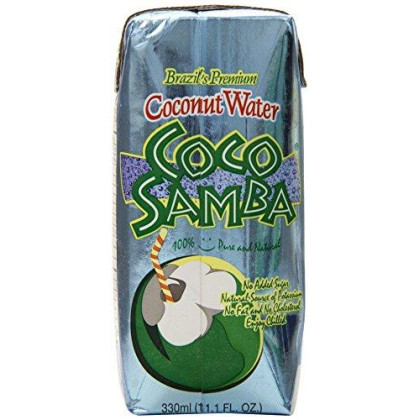 Coco Samba Brazil'S Premium Coconut Water, 11.1 Ounce (Pack Of 12)