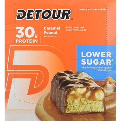 Forward Foods Deluxe Whey Protein Energy Bar Caramel Peanut 12-3Oz. (85G) Bars 36 Oz. (1020G)