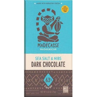 Beyond Good Organic 63% Chocolate With Sea Salt And Nibs, 2.64 Oz