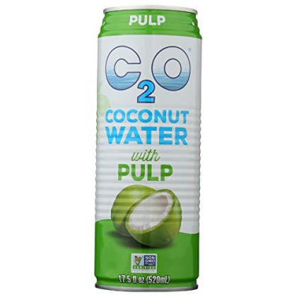 C2O - Pure Coconut Water With Pulp - 17.5 Oz.