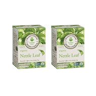 Traditional Medicinals Organic Nettle Leaf Herbal Tea 16 Tea Bags