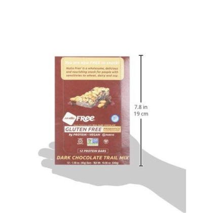Nugo Nutrition Nugo Free Gluten Free Dark Chocolate Trail Mix 12 Bars 1 59 Oz 45 G Each