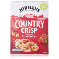 Jordans Country Crisp With Sun-Ripe Strawberries 500G