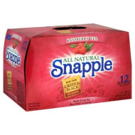 Snapple Tea, 12- 16 Fl Oz (Pack Of 2) (Raspberry)