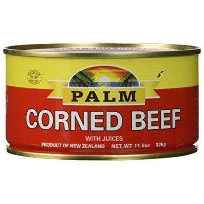 Palm Corned Beef - Premium Quality from New Zealand - 4 x 11.5 oz (326 g)