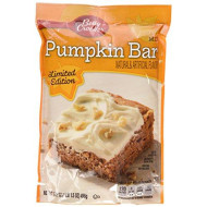 Betty Crocker Pumpkin Bar Mix 17.5Oz Bag (Pack Of 6)