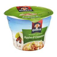 Quaker Instant Oatmeal Apple Cinnamon, 1.51 Ounce -- 12 Per Case.