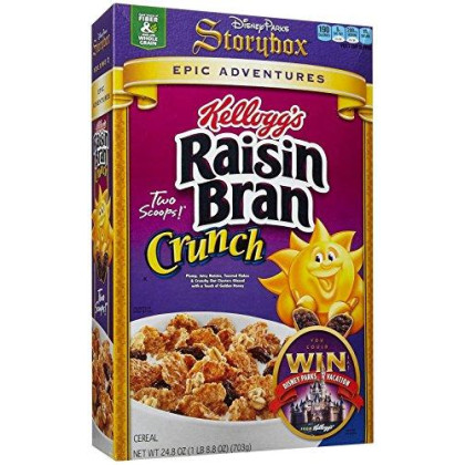 Kellogg'S Raisin Bran Raisin Bran Crunch Cereal - 24.8 Oz