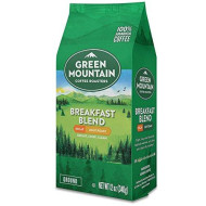 Green Mountain Coffee Roasters Breakfast Blend Decaf, Ground Coffee, Light Roast, Bagged 12 Oz