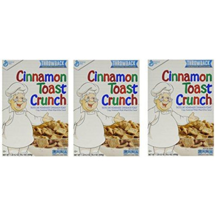 Cinnamon Toast Crunch Whole Wheat And Rice Cereal 16.2 Oz (Pack Of 3)