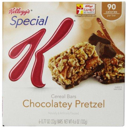 (Discontinued By Manufacturer)Special K Bars, Chocolatey Pretzel, 6 Count