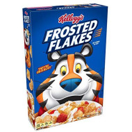 (Discontinued Version) Kellogg'S Breakfast Cereal, Frosted Flakes, Fat-Free, 15 Oz Box