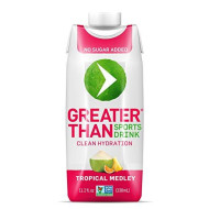 Greater Than Coconut Water Sports Drink (Tropical Blend 12-Pack) Paleo / Keto