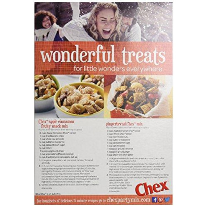 Cinnamon Chex, Apple, 12.4 Ounce