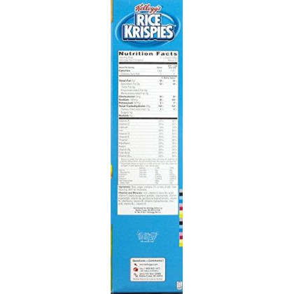 Rice Krispies Toasted Rice Cereal, 18 Ounce