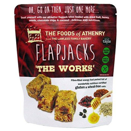 Foods Of Athenry Flapjacks The Works Oats, 5.5 Ounce