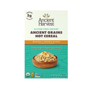 Ancient Harvest Organic Gluten Free Ancient Grain Hot Cereal, Banana & Brown Sugar, 10.58 Ounce