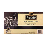 Peets Major Dickason'S Dark Roast Coffee Rich, Complex, Full Bodied 60 K-Cups