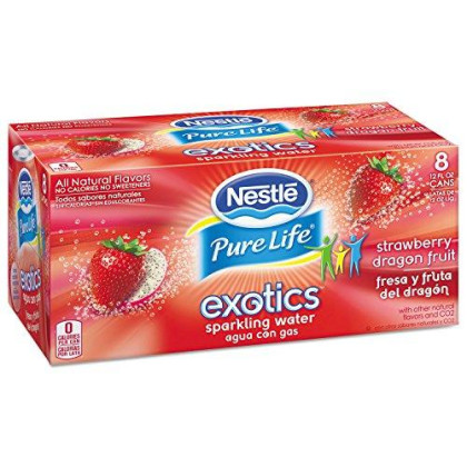 Sparkling Water Exotics Strawberry Dragon Fruit