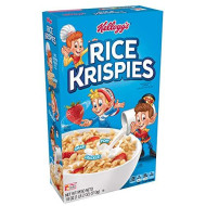 (Discontinued Version) Kellogg?S Rice Krispies Breakfast Cereal, Toasted Rice Cereal, Fat-Free, 18 Oz Box