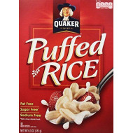 Quaker Cereal Essential Puffed Rice Cereal, 6.3 Ounce