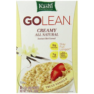 (Discontinued By Manufacturer)Kashi Golean Instant Hot Cereal, Creamy Truly Vanilla, 11.28 Ounce