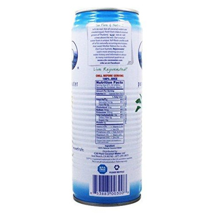 C2O - Pure Coconut Water - 17.5 Oz (Pack Of 2)