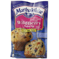 Martha White Wildberry Muffin Mix (Pack Of 2) 7 Oz Bags