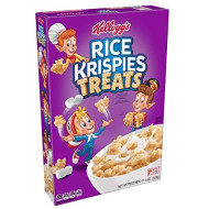 (Discontinued Version) Kellogg?S Rice Krispies Treats, Breakfast Cereal, Low Fat, 11.6 Oz Box(Pack Of 12)