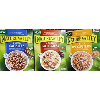 General Mills Cereals Nature Valley Variety Pack, 15.75 Oz (Bundle Of 3)
