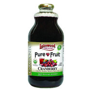 Lakewood Pure Fruit Cranberry Nectar Blend, 32 Ounce (Pack Of 6)
