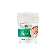 Purely Elizabeth Superfood Oats - Gluten-Free Oats & Non-GMO Project Verified 100% Vegan & Packed with Protein & Fiber APPLE CINNAMON PECAN - 10oz
