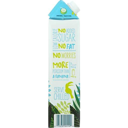 Harvest Bay Coconut Water Juice Aseptic Box, 33.80 Oz