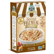 Bakery On Main Gluten Free Non-Gmo Instant Oatmeal, Maple Multigrain Muffin, 10.5 Ounce Box