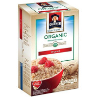 Quaker Organic Instant Oatmeal - Regular - 8 Ct