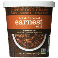 Earnest Eats Vegan & Wheat-Free Hot Cereal With Superfood Grains/Quinoa/Oats/Amaranth, Mayan Blend, 2.35 Ounce