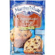 Smuckers Martha White Chocolate Chip Muffin Mix, 7.4 oz