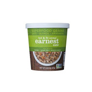 Earnest Eats Vegan & Wheat-Free Hot Cereal With Superfood Grains/Quinoa/Oats/Amaranth, Asia Blend, 2.35 Ounce, Single Serve Cups