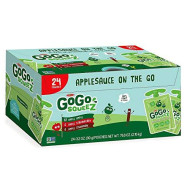 GoGo SqueeZ Applesauce Variety Pack (3.2 oz. pouches, 24 ct.)