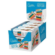 The Original Cakebites By Cookies United, Grab-And-Go Bite-Sized Snack, Ultimate Party Cake, 12 Pack Of 3 Cookies