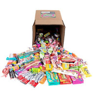 Your Favorite Brand Name Candy! - 5 Pounds Of Nerds, Lemonheads, Laffy Taffy, Airheads, & Much More By Snackadilly