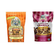 Bakery on Main Granola Gluten Free Extreme Nut & Fruit + Cranberry Almon Maple (PACK OF 2 BAGS)