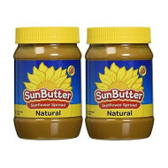 Sunbutter Natural Sunflower Seed Spread, 16 Ounce Pack Of 2