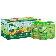 GoGo squeeZ Applesauce, Variety Pack (Apple Apple/Apple Strawberry/Apple Banana), 3.2 Ounce (20 Pouches), Gluten Free, Vegan Friendly, Unsweetened, Recloseable, BPA Free Pouches