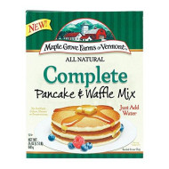 Maple Grove Farms Pancake and Waffle Mix - Case of 6-24 oz.