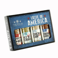 The Spice Lab Taste Of America Spices And Seasonings Set - Ultimate Grilling Accessories Set - Perfect Gift Kit - All Around Cooking & Air Fryers - Great Gift For Men Or Gift For Dad - Made In The Usa