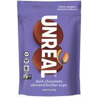 UNREAL Dark Almond Butter Cups, Chocolate, 9.6 Ounce