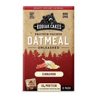 Kodiaks Cakes Protein Packed Oatmeal Unleashed Cinnamon 1-Box 6-Packets
